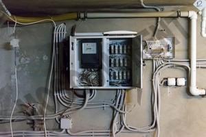 Промышленная гидропоника - помещение в Лыткарино - оборудование - щиток
